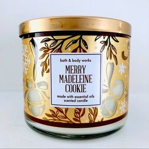 BBW Merry Madeleine Cookie Candle